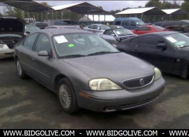 2004 Mercury Sable Gs Sedan For Sale At Iaa Insurance