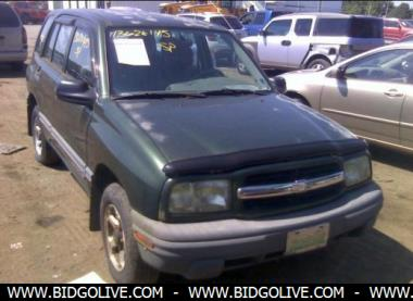 1999 chevrolet tracker wagon for sale iaa car auction. Black Bedroom Furniture Sets. Home Design Ideas