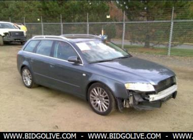 2006 audi a4 d station wagon for sale at iaa auto auction bidgolive blog used car online. Black Bedroom Furniture Sets. Home Design Ideas