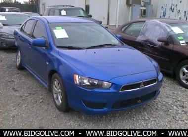 2010 mitsubishi lancer es es sport sedan for sale at iaa car auction bidgolive blog used car. Black Bedroom Furniture Sets. Home Design Ideas