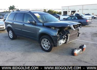 used 2008 volvo xc90 wagon for sale at iaa auction bidgolive blog used car online auto. Black Bedroom Furniture Sets. Home Design Ideas