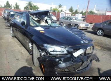 Buy Online Used BMW Alpina B D Sedan Car For Sale At BidGoLive - Bmw b7 alpina for sale