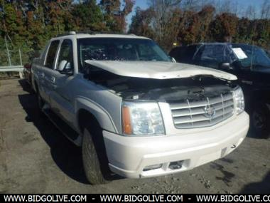 Buy Online Used 2003 CADILLAC ESCALADE EXT 4 Door EXT Cab Pk