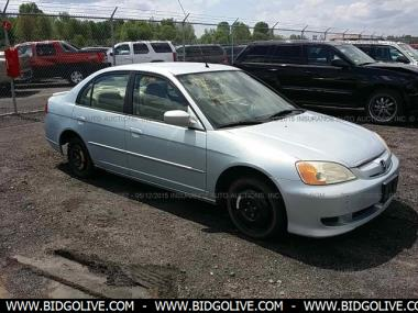 2003 HONDA CIVIC HYBRID Sedan 4 Door