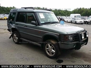 used 2004 land rover discovery se sport utility 4 door car from iaa auto auction bidgolive. Black Bedroom Furniture Sets. Home Design Ideas