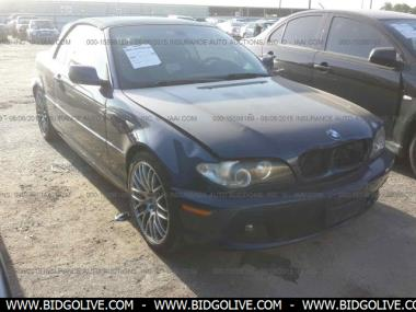 Used 2004 BMW 330CI Convertible Car From IAA Auto Auction ...