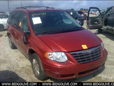 used 2007 chrysler town country lx sport van from iaa auto auction bidgolive blog used car. Black Bedroom Furniture Sets. Home Design Ideas