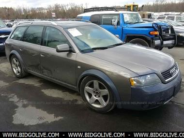 used 2005 audi allroad station wagon car from iaa auto auction bidgolive blog used car. Black Bedroom Furniture Sets. Home Design Ideas