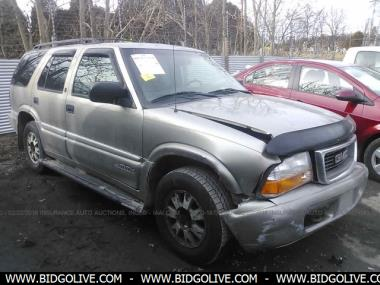 Used 1999 Gmc Jimmy Wagon 4 Door Car From Iaa Auto Auction