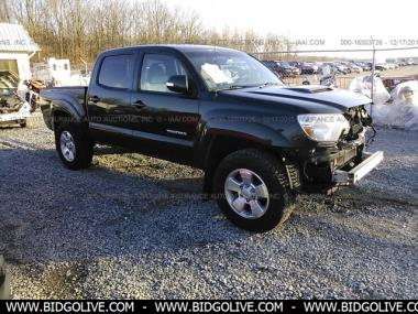used 2012 toyota tacoma double cab crew cab pickup 4 door car from iaa auto auction bidgolive. Black Bedroom Furniture Sets. Home Design Ideas