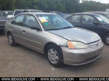 2001 HONDA CIVIC LX Sedan 4 Door