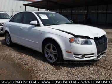 used 2007 audi a4 2 0 turbo sedan 4 door car from iaa auto. Black Bedroom Furniture Sets. Home Design Ideas