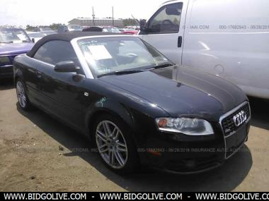 Used 2009 Audi A4 Cabriolet 2 0t Convertible Car From Iaa