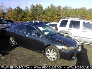 Used ACURA TSX AT WITH NAVIGATION SYSTEM SEDAN Door Car From - 2004 acura tsx navigation