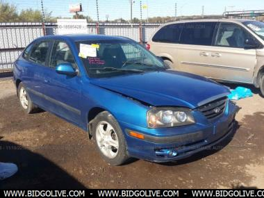 Used 2005 HYUNDAI ELANTRA GLS/GT Hatchback 4 Door Car From IAA Auto Auction