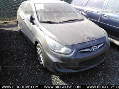 2012 Hyundai Accent Gs Mpg >> Used 2012 Hyundai Accent Gs 5 Door Hatchback 4 Door Car From