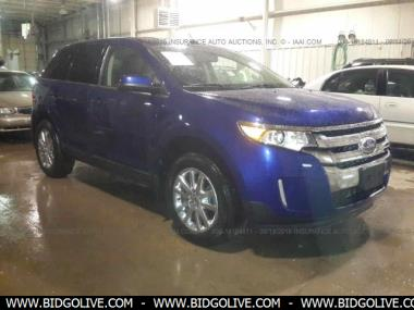 Used  Ford Edge D Suv  Door Car From Iaa Auto Auction