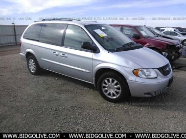 Used 2003 Chrysler Town Country Ex Sports Van From Iaa Auto