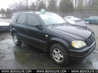 used 2001 mercedes benz ml320 wagon 4 door car from iaa. Black Bedroom Furniture Sets. Home Design Ideas