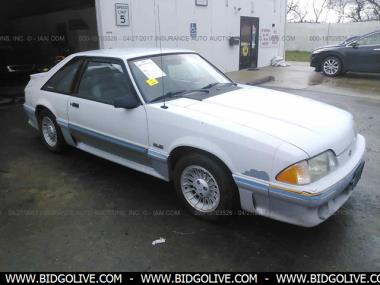 Used 1988 FORD MUSTANG GT Hatchback 2 Door Car From IAA Auto Auction