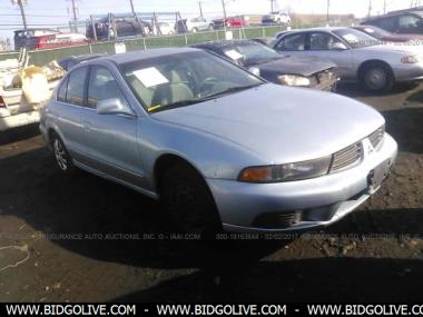 Used 2003 MITSUBISHI GALANT ES/LS Sedan 4 Door Car From IAA Auto Auction