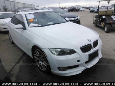 Used 2008 BMW 328I Coupe Car From IAA Auto Auction  BidGoLive