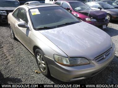 Used 2001 HONDA ACCORD EX Coupe Car From IAA Auto Auction