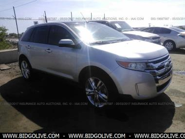 Used  Ford Edge Sel Sport Utility  Door Car From Iaa Auto Auction