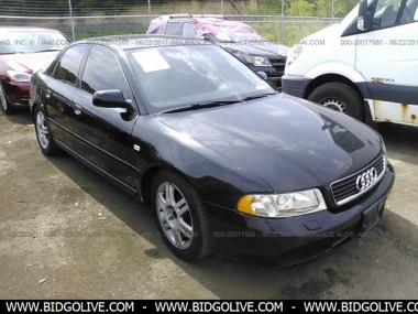 used 2000 audi a4 1 8t quattro sedan 4 door car from iaa. Black Bedroom Furniture Sets. Home Design Ideas