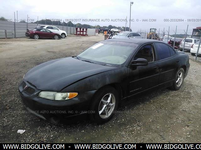 2000 pontiac grand prix engine size