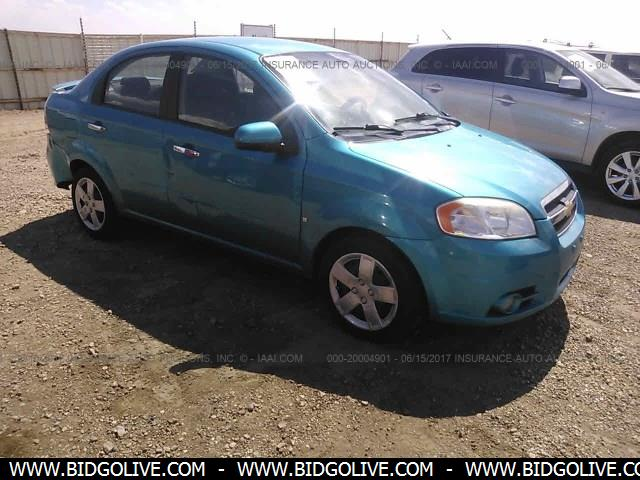 Used 2009 Chevrolet Aveo Lt Sedan Car From Iaa Auto Auction