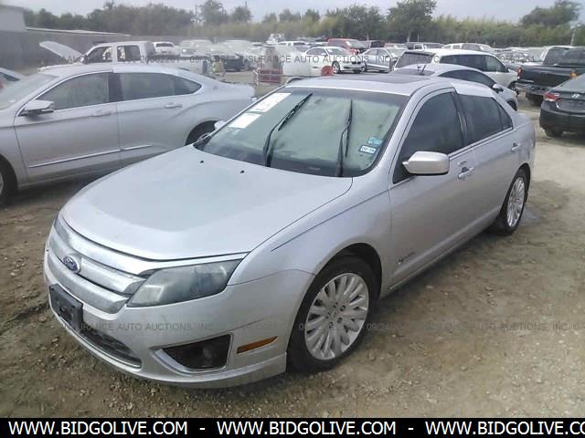 Used 2010 Ford Fusion Hybrid Car From Iaa Auto Auction