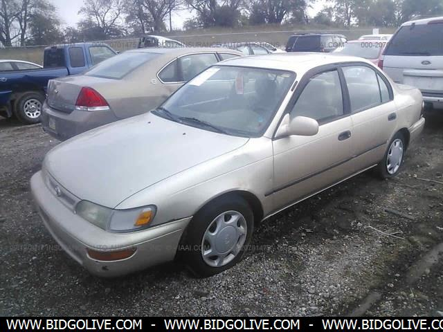 Used 1996 TOYOTA COROLLA DX Car From IAA Auto Auction