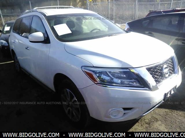 Used 2013 NISSAN PATHFINDER Car From IAA Auto Auction