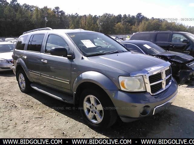 used 2007 dodge durango limited car from iaa auto auction. Black Bedroom Furniture Sets. Home Design Ideas