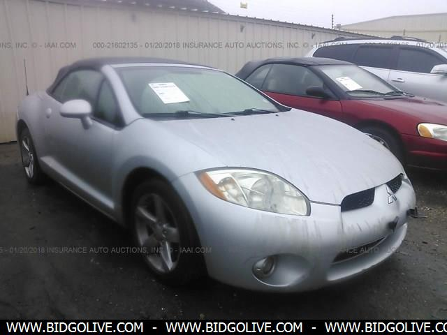 Used 2008 Mitsubishi Eclipse Spyder Gs Convertible Car From Iaa Auto