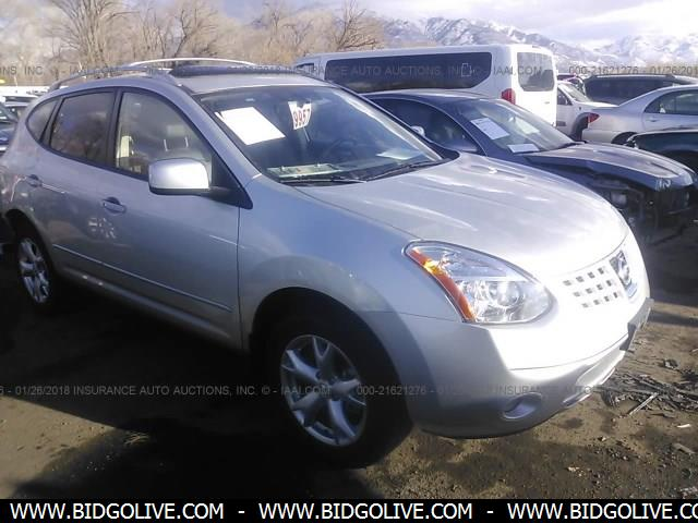 Used 2008 Nissan Rogue Ssl Car From Iaa Auto Auction Bidgolive