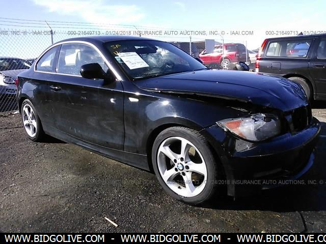 Used 2010 Bmw 128i Coupe 2 Door Car From Iaa Auto Auction Bidgolive Blog Used Car Online Auto Auction Nigeria Ghana