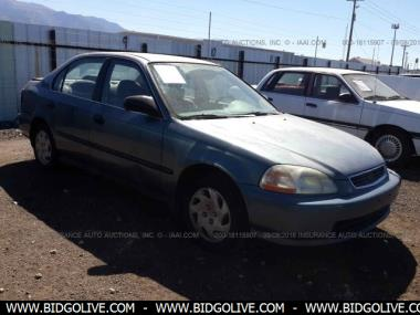Used 1998 HONDA CIVIC LX Sedan 4 Door Car From IAA Auto ...